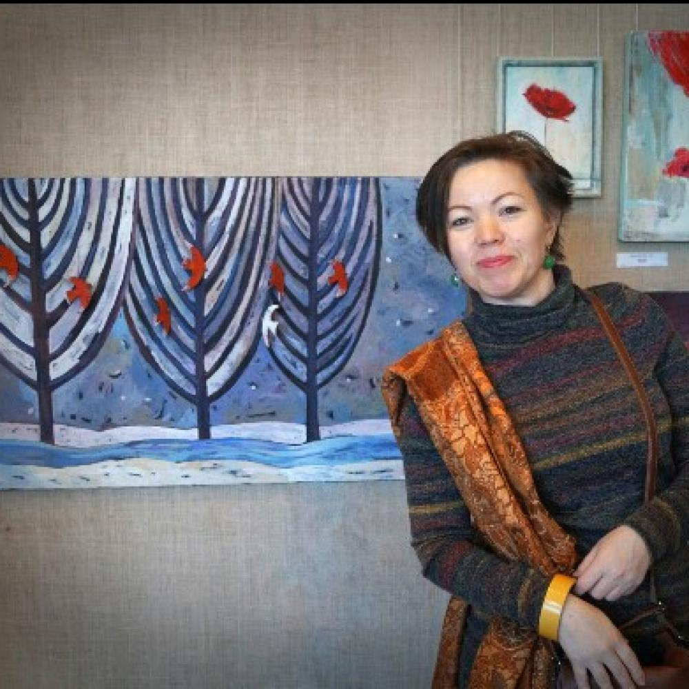 Ирина Бабушкина: известная Каменская художница рассказала о своём творчестве и дала советы начинающим творцам