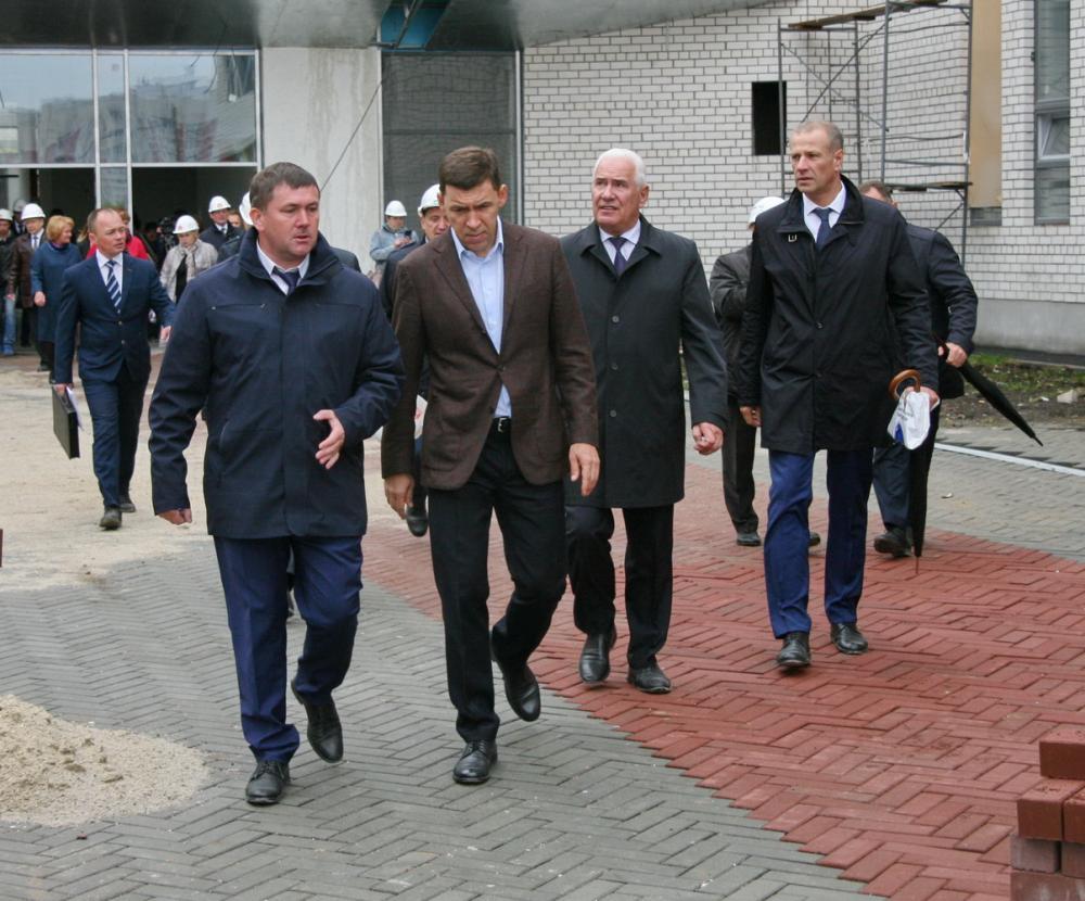16 сентября в Каменске-Уральском побывал губернатор Свердловской области Евгений Куйвашев