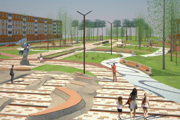 Правительство области выделило дополнительные деньги на бульвар и новый парк в Каменске-Уральском...