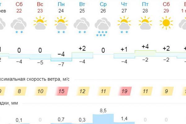Весна остается в Каменске-Уральском. Но на следующей неделе обещают жуткий снегопад...