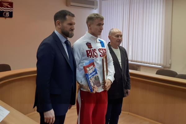 Никита Елин стал лучшим спортсменом Каменска-Уральского по итогам осеннего сезона