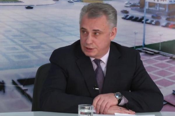 Визит. В гостях С.Гультяев, главный врач детской городской больницы