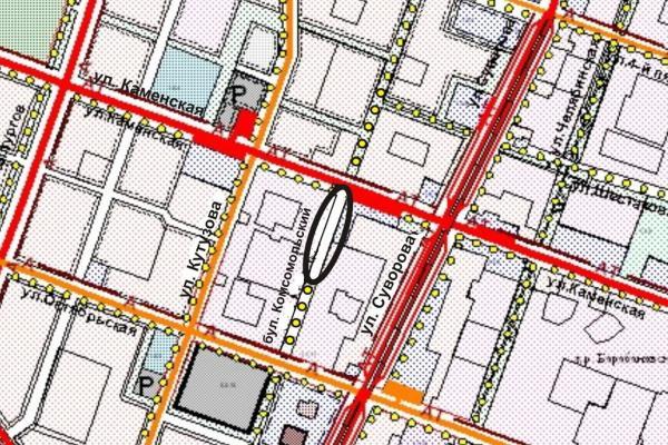 По части пешеходной дороги бульвара Комсомольский в Каменске-Уральском разрешили движение...