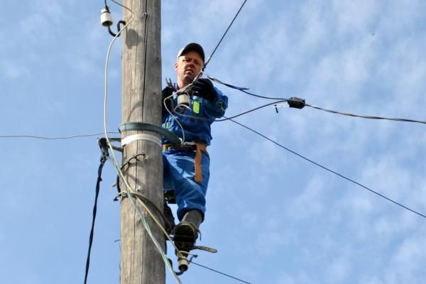 Несколько домов в Синарском районе Каменска-Уральского остались без электричества...