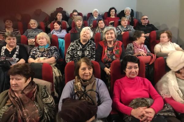 Киноподарок подготовили в Каменске-Уральском для блокадников и бывших узников концлагерей...