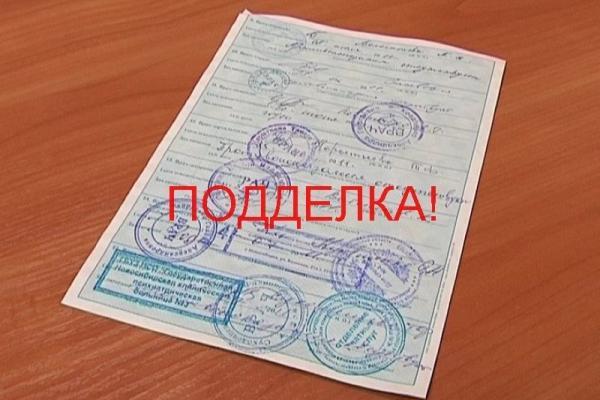 Житель Каменска-Уральского может получить год колонии за поддельную медицинскую справку...