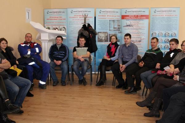 На Каменск-Уральском литейном заводе сменилась власть. В молодежных советах...
