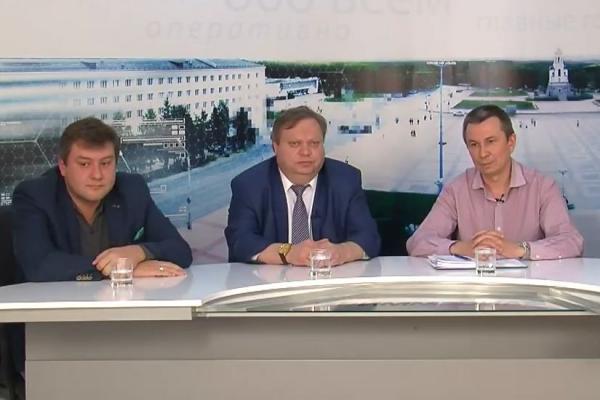 Разговор по существу. В гостях Г.Виноградов, В.Кайсаров, С.Иноземцев...