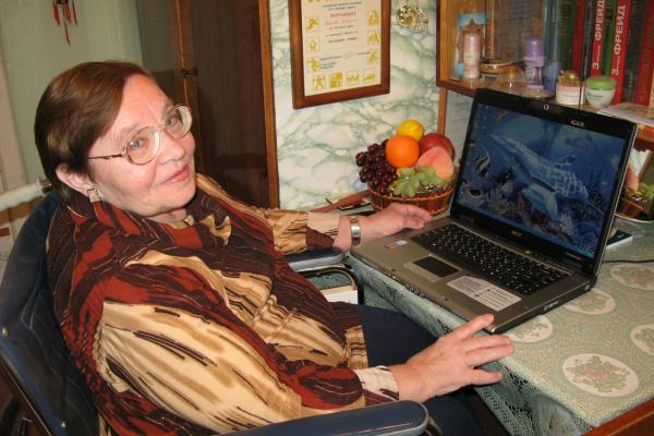 16 января не стало каменской поэтессы Людмилы Быковой...