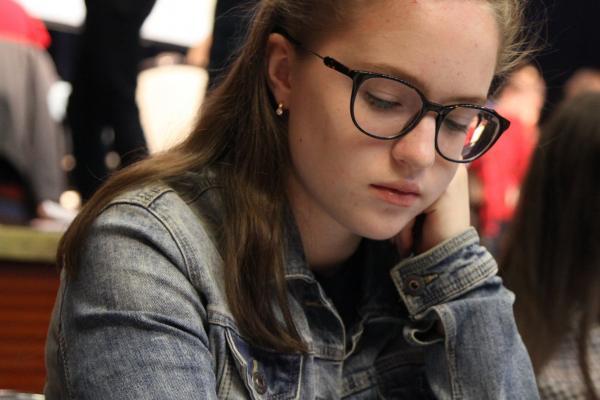 Маргарита Филиппова из Каменска-Уральского завоевала серебро чемпионата России по быстрым шахматам...