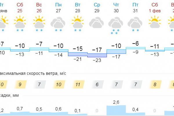 На следующей неделе Каменску-Уральскому обещают морозы. Каждый синоптик по-своему...