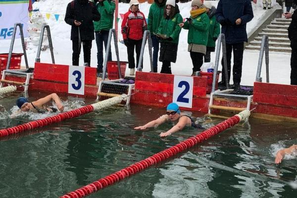 Каменцы оказались вторыми на четвертом этапе Кубка России по зимнему плаванию...
