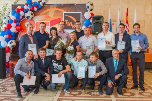 В Каменске-Уральском отметили 85-летие физкультурно-спортивного движения на Синарском трубном заводе...