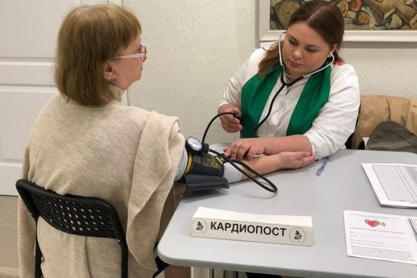 От консультаций до кардиозарядки. В Каменске-Уральском стартовала неделя общественного здоровья...