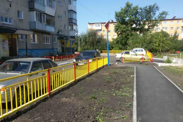 В Каменске-Уральском появился новый двор на старом месте...