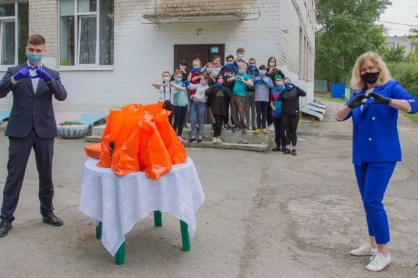 Праздник детства устроили для ребят из центра для несовершеннолетних «Синарский» В Каменске-Уральском...