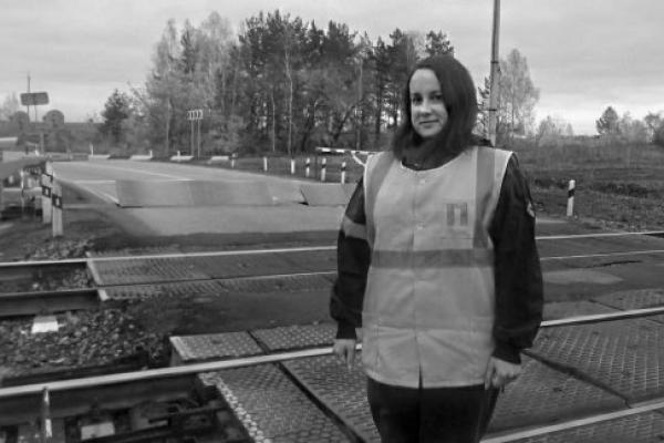 Сотрудница Каменск-Уральской дистанции пути предотвратила железнодорожную катастрофу...