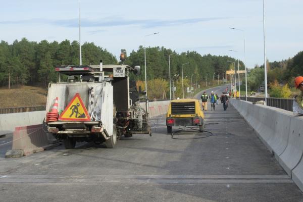 Сутки остаются до открытия проезда по Байновскому мосту в...