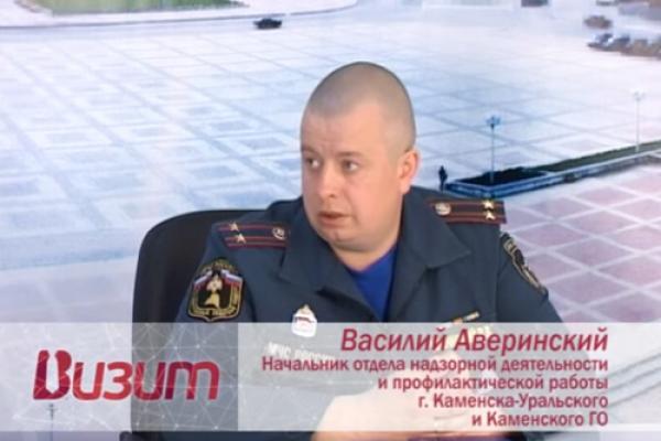 Визит. В гостях В. Аверинский, начальник отдела надзорной деятельности и профилактической работы