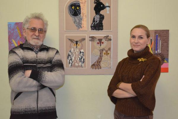 В Детской художественной школе № 1 открылась выставка работ юных художников «Дуэт»...