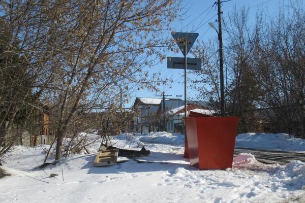 В частном секторе Каменска-Уральского завершается установка контейнеров для сбора отходов...