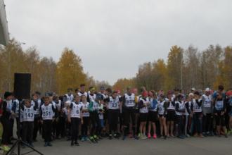 Легкоатлетический забег памяти Александра Цуканова