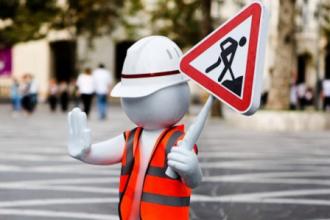 С 13 по 17 мая движение транспорта по улице Кунавина будет ограничено